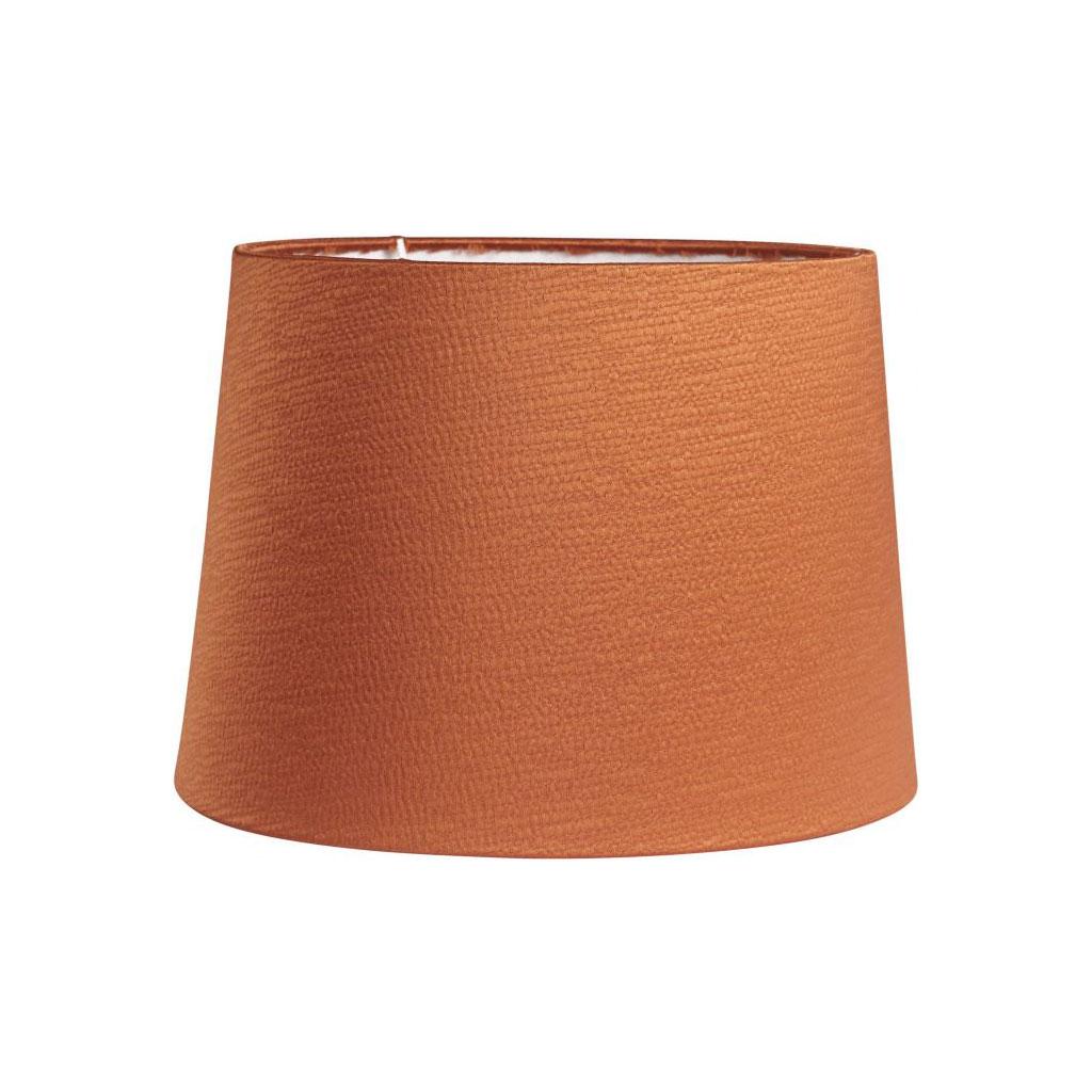 Lampeskærm, Sofia Glint silkelook, Orange