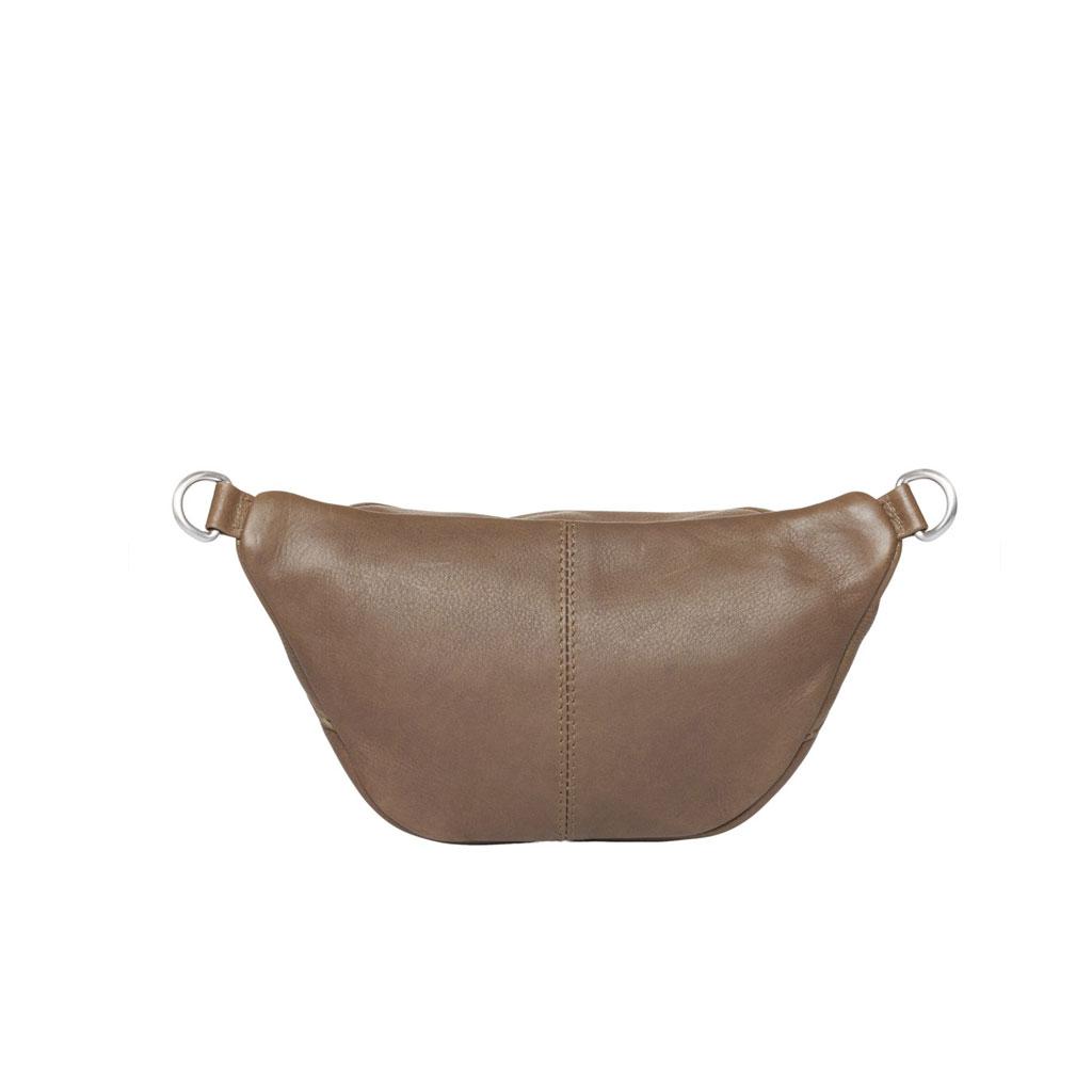 Bæltetaske Astrid Mini, Oliven læder