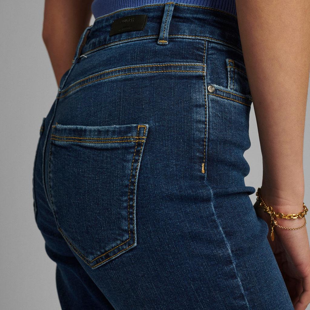 Jeans med stretch, Denimblå, Nümph