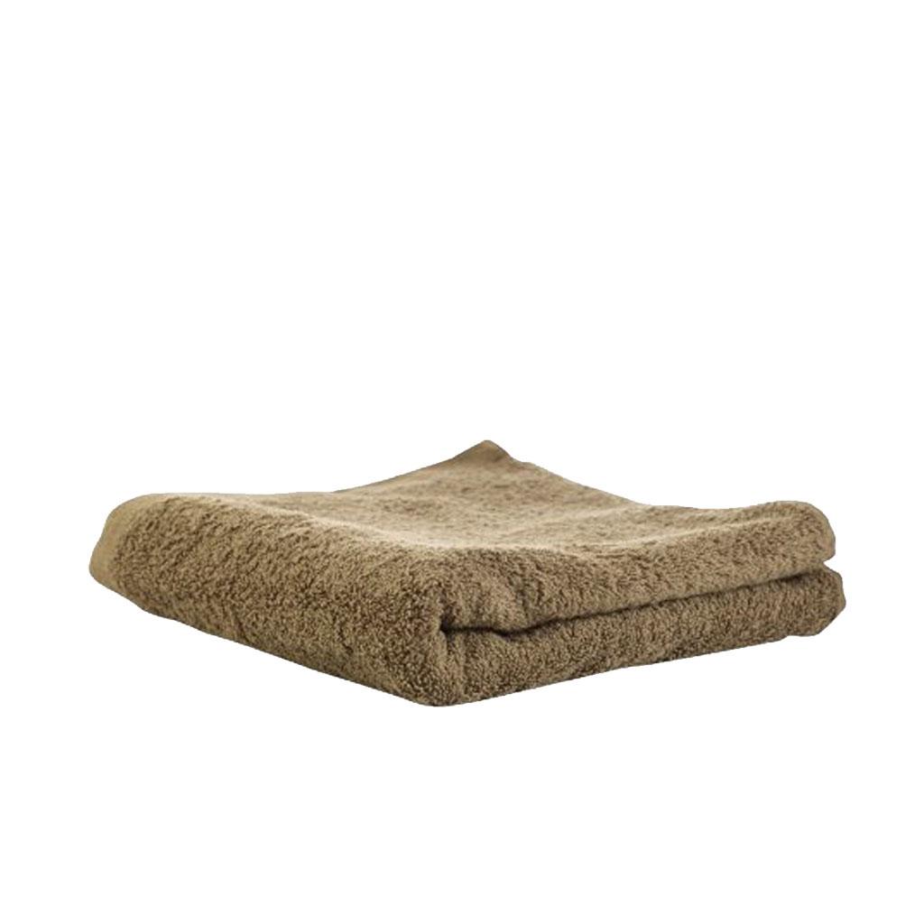 Gæstehåndklæde 30x50cm, Khaki