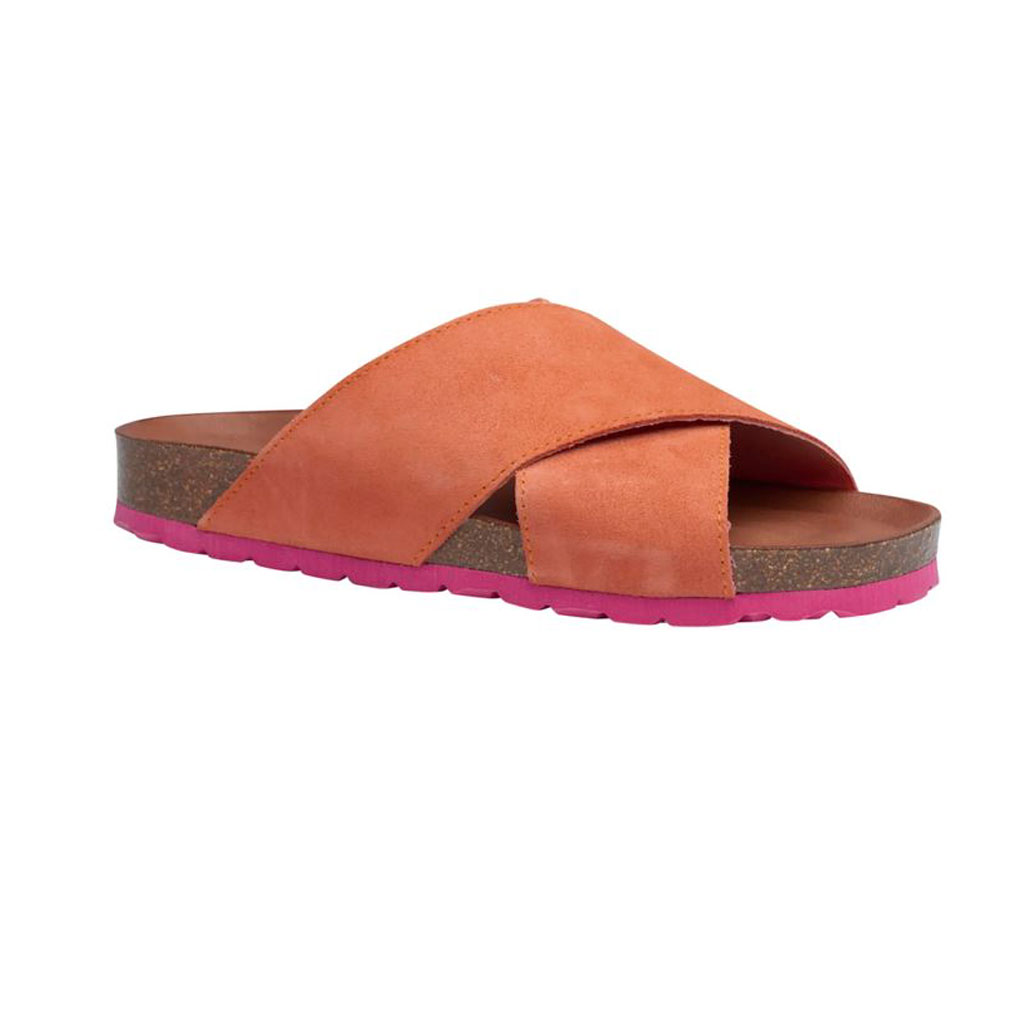 Sandal, Annett, Coral/Fuxia