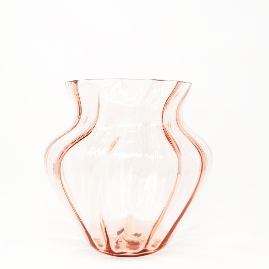 Vase Swirl Rosa