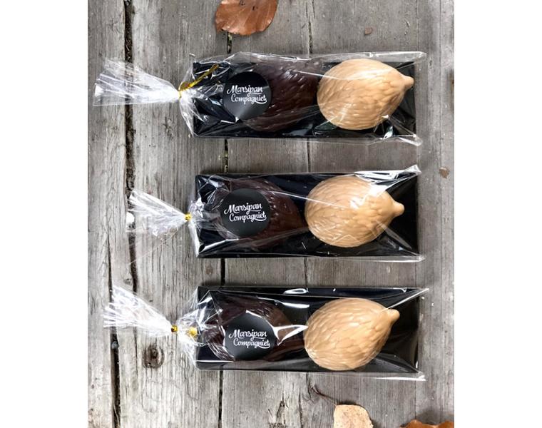 Sjokoladepinnsvin  - Karamell & mørk 70% sjokolade