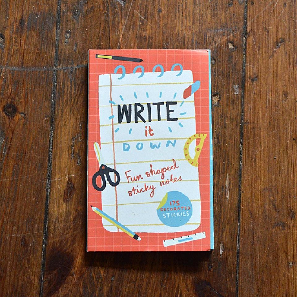 Häftlappar - Write it