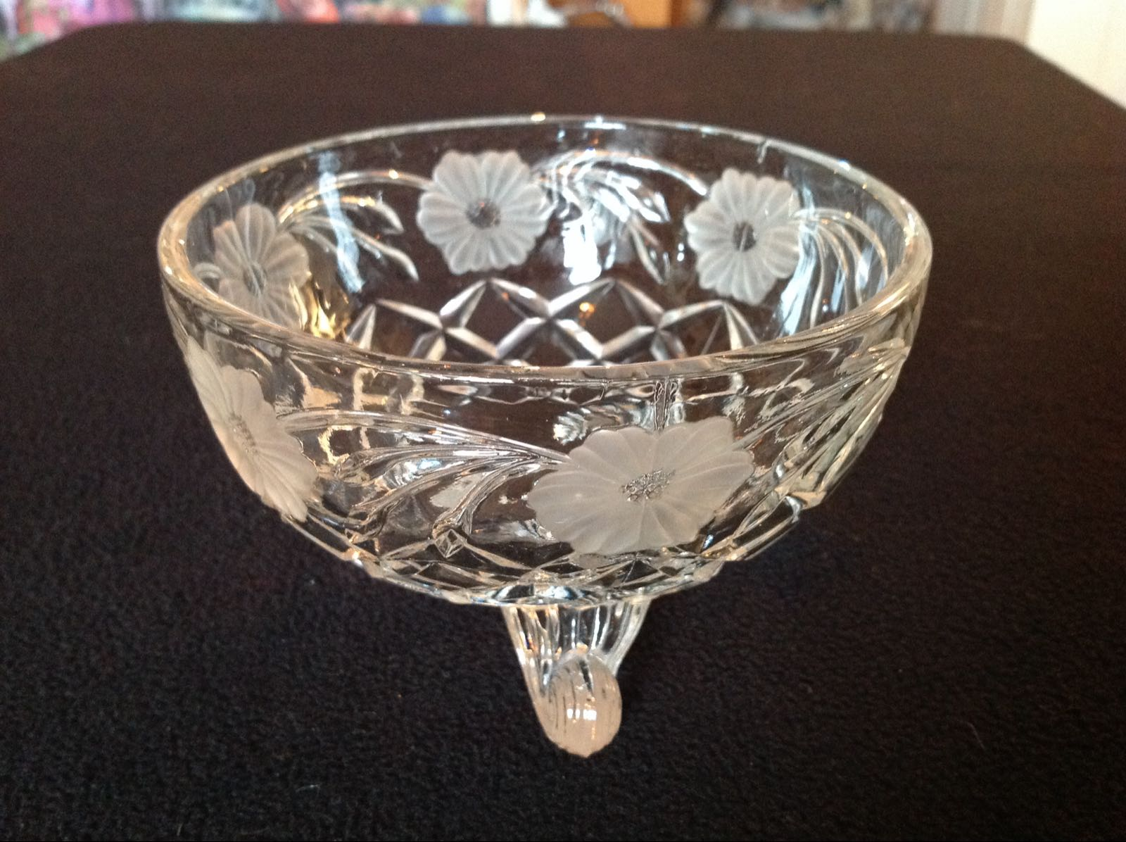 Glasskål (second hand, vintage, retro)