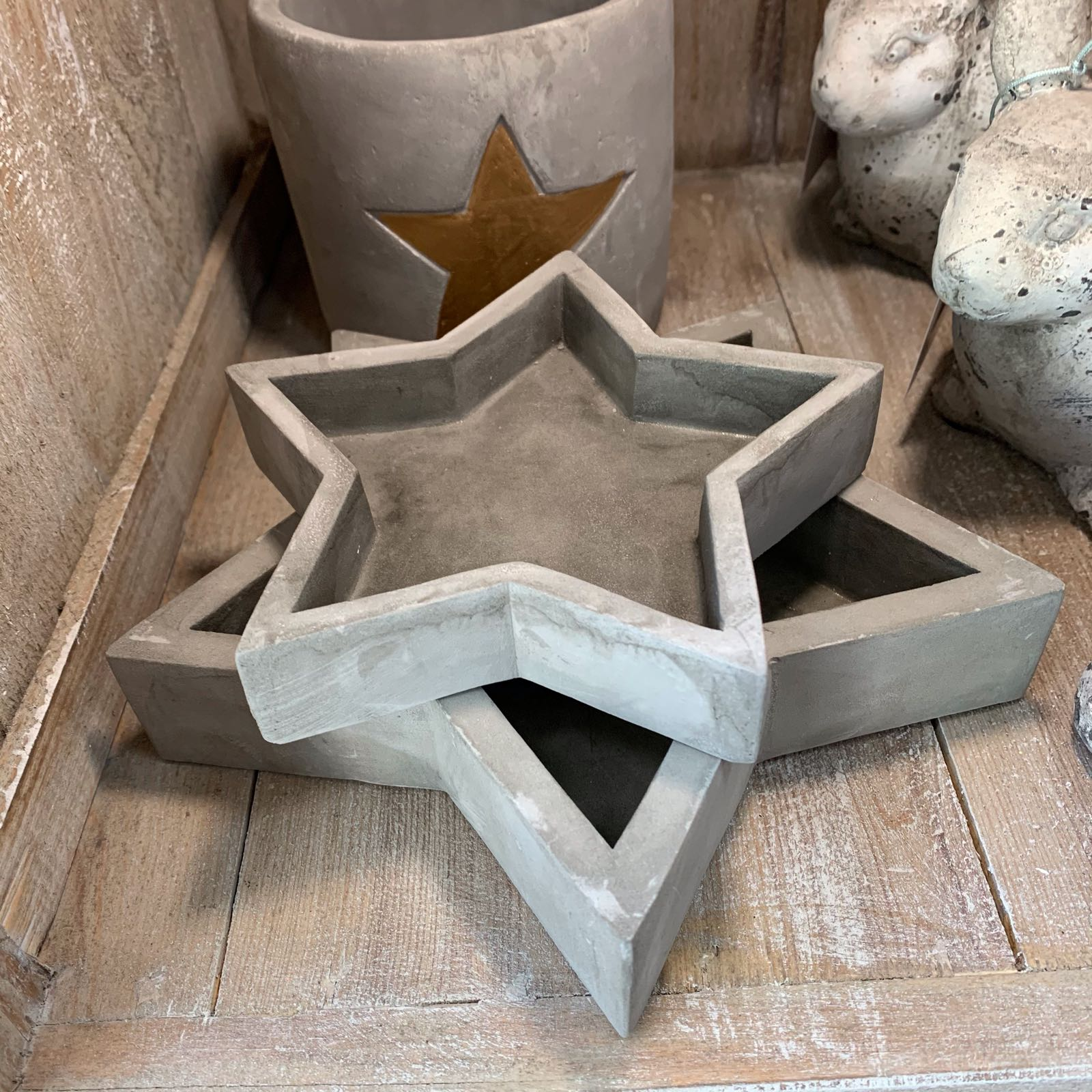 Cement Star Tray