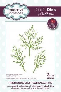 CE CED1468 Swirly Leaf Trio