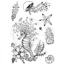 CE PI049 Seahorse swirls