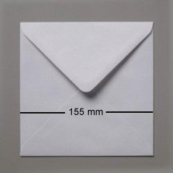 Kuverter 15,5x15,5cm FUGTGUMMIERET