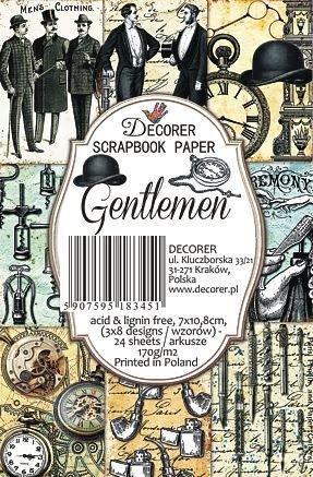 Decorer Gentlemen Paper Pack
