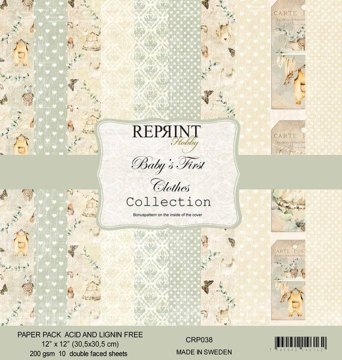 Reprint Baby´s First Clothes (CRP038)