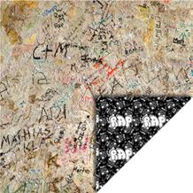 FelicitaDesign Skrift på væg musik-rap