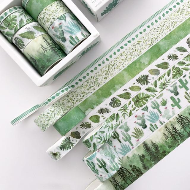 Washi Tape 8 Piece Forest Elements