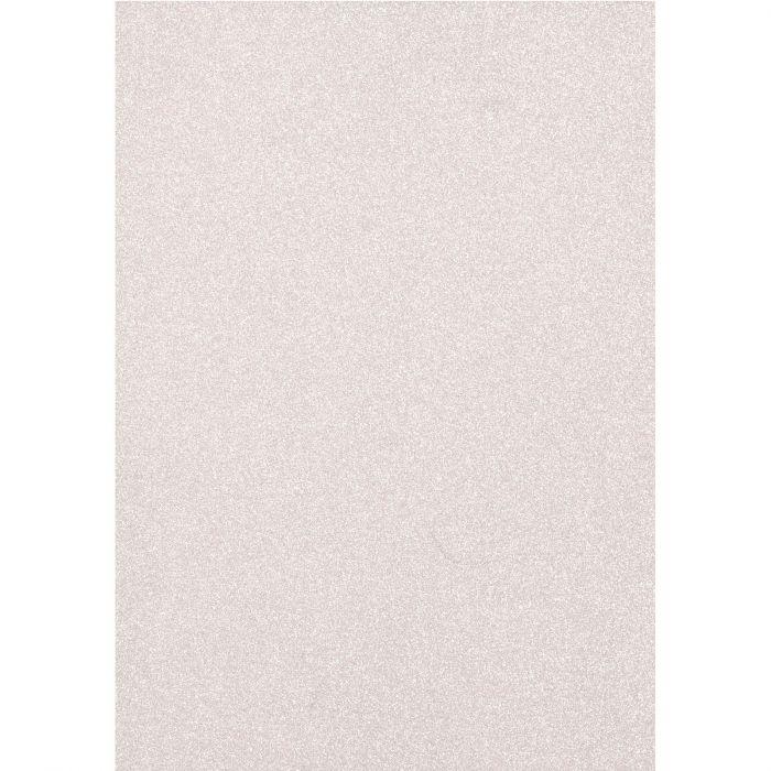 Florence • Glitter paper A4 5pcs 250g Silver