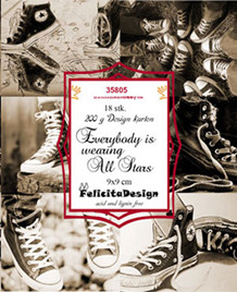 FelicitaDesign Toppers Everybody is wearing All Stars