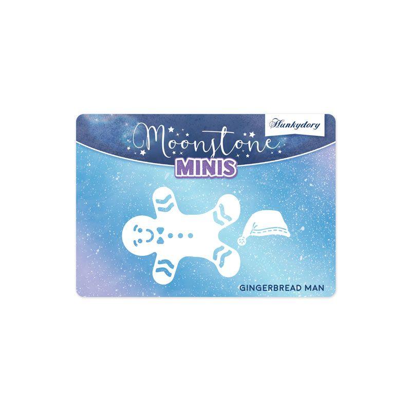 HD MSTONE395 Christmas Embellishments - Gingerbread Man