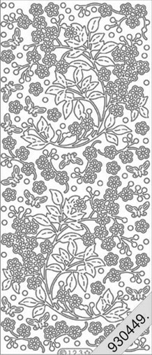 Stickers_Blomster ranke