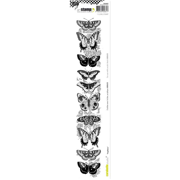 SED0005 Stamp Edge Papillons