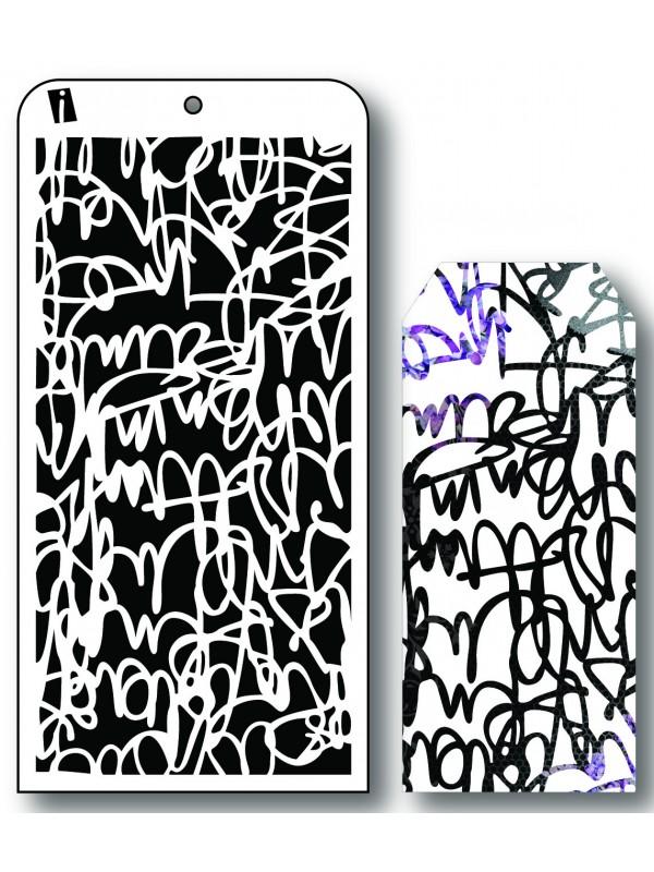 """IC8565 4""""x8"""" Stencil Skrift"""