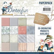 Papermania Papirblok Winterfun
