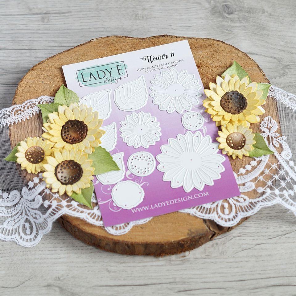 Lady E Design Flower 11