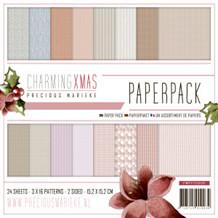 Papermania Papirblok Charming XMAS