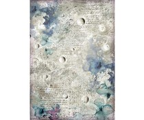 Stamperia Rice Paper A4 Cosmos Astral (DFSA4386)