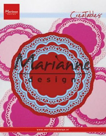 Marianne Design CUT/EMB Doily Duo