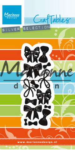 MARIANNE DESIGN CR1434 CUT/EMB Bows