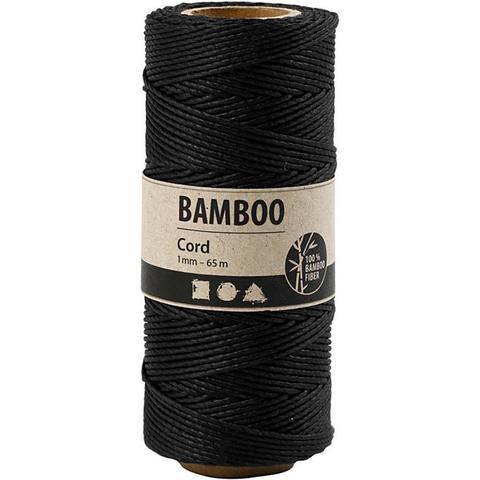 "Bamboo Cord ""Black"" 503483 pr meter"