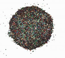 CE Embossingpulver Black Sparkle