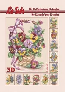 3d A5 bog: Blomster 09