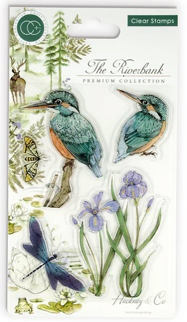 CCSTMP010 The Riverbank - Kingfishers - Clear Stamp Set