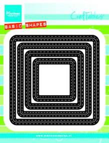 Marianne Design CUT/EMB Stitched Squares