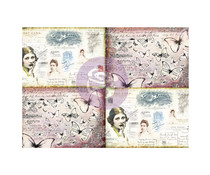Finnabair Art Daily Decorative Paper Journaling Minis Ladies' World
