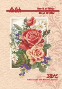 3d A4 bog: Blomster 2