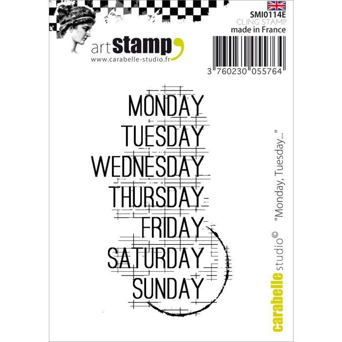SMI0114E Stamp Monday. Tuesday...