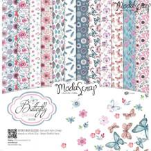 ModaScrap PAPER PACK BUTTERFLY DREAM 12x12
