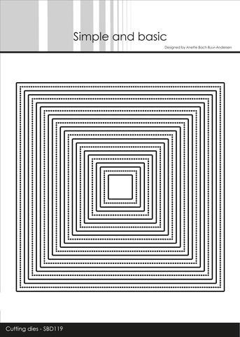 SBD119 Frames - Square