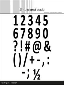 Simple and Basic die Numbers