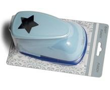 Easy Punch blå stjerne 4,5 cm