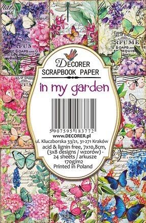 Decorer In my Garden Paper Pack