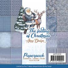 Papermania Papirblok The Feeling of Christmas