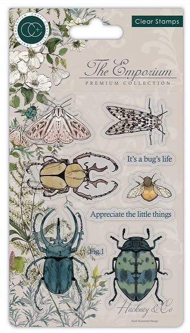 CCSTMP019 The Emporium - Beetles - Stamp Set