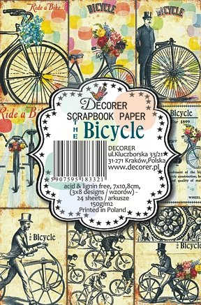 Decorer Bicycle Paper Pads