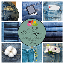 Dixi Craft Toppers Denim