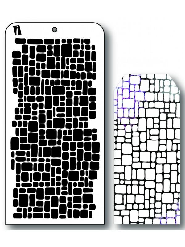 """IC8579 4""""x8"""" Stencil Tern"""