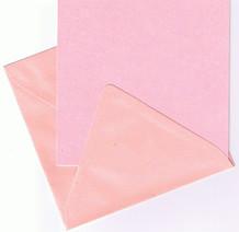 Dovecraft-Mireillecraft Kort og Kuvert Rosa