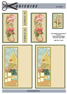 3d A4 fra Quickies Nisse i julesok