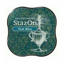 STAZON MIDI TEAL BLUE